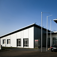 Bürogebäude am Bahnhof